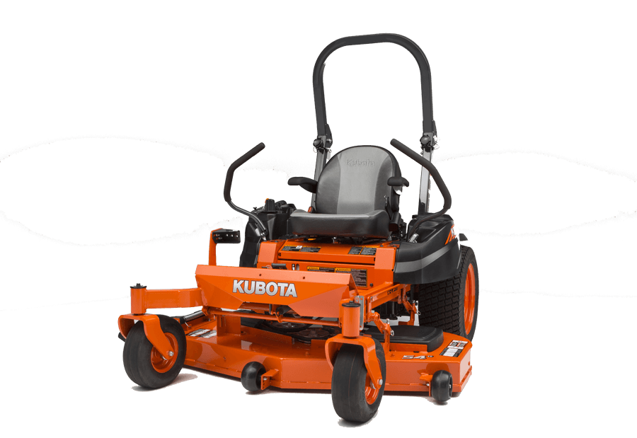 Cutting the toughest lawn with the power of Kubota